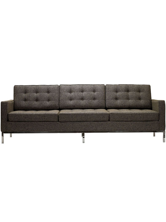 Bateman Beige Wool Sofa