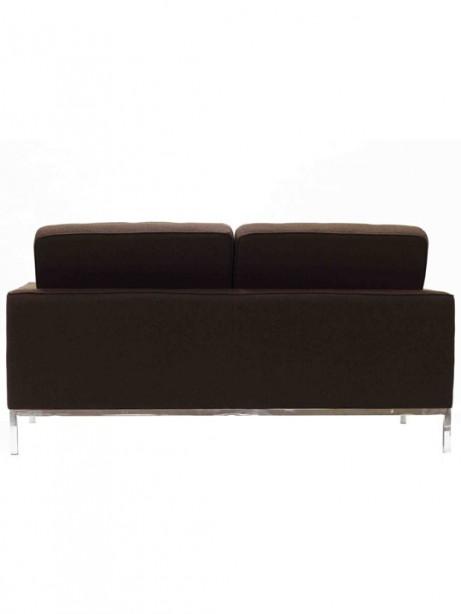 Bateman Brown Wool Love Seat 3 461x614
