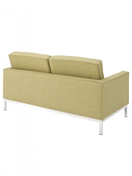 Bateman Green Wool Love Seat 3 461x614