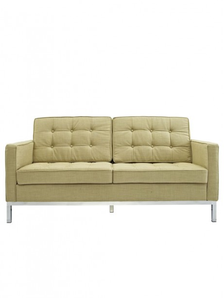 Bateman Green Wool Love Seat 461x614