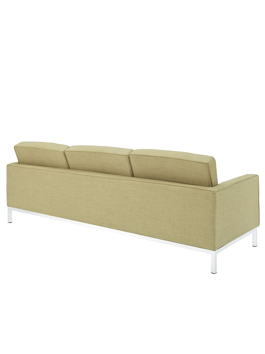 Bateman Green Wool Sofa 3