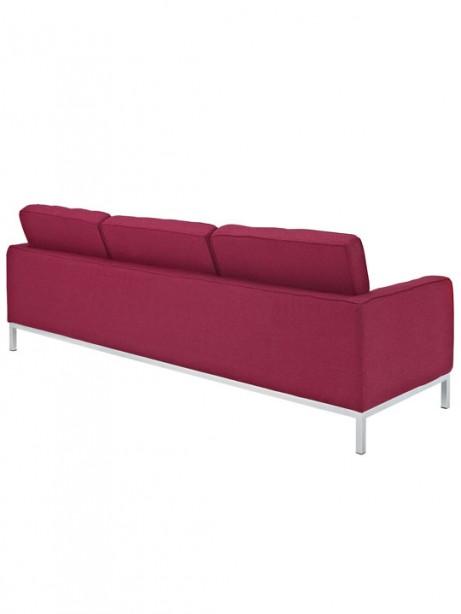 Bateman Red Wool Sofa 2 461x614