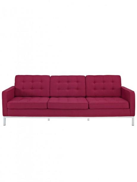 Bateman Red Wool Sofa 461x614