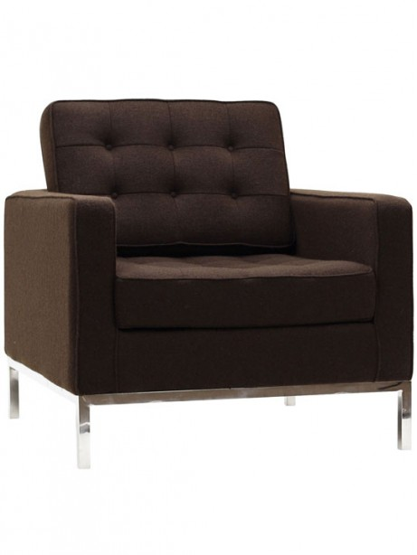 Bateman Wool Armchair Brown 3 461x614