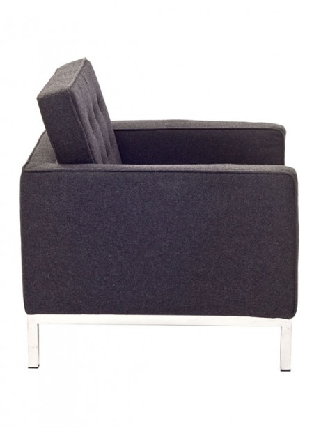 Bateman Wool Armchair Dark Gray  461x614