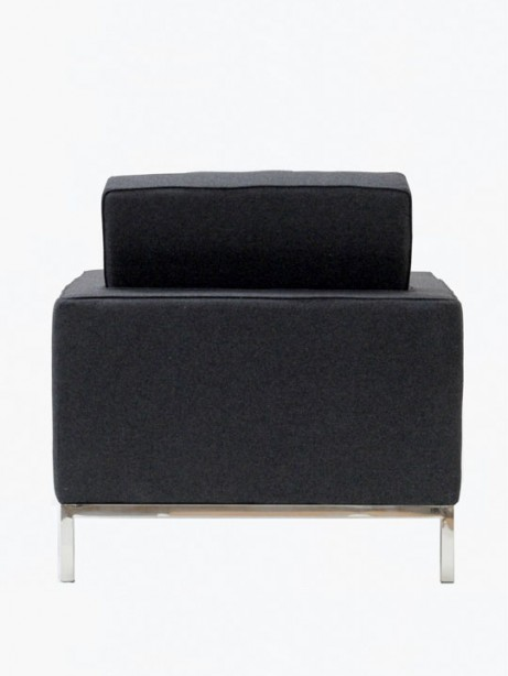 Bateman Wool Armchair Dark Gray 2 461x614