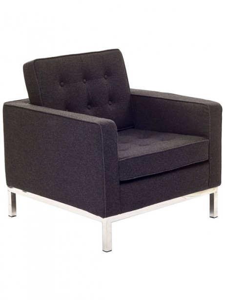 Bateman Wool Armchair Dark Gray 3 461x614