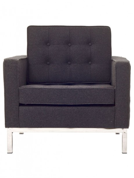 Bateman Wool Armchair Dark Gray 4 461x614