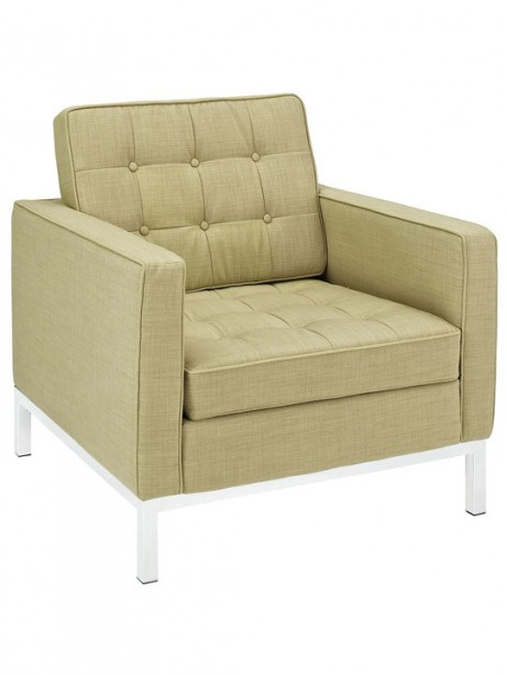 Bateman Wool Armchair Green 3 461x614