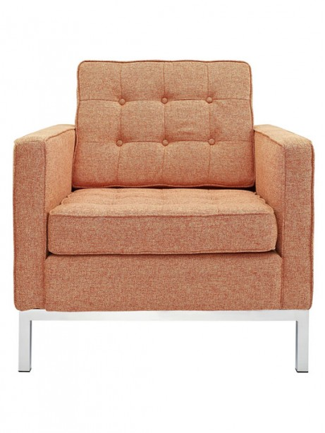 Bateman Wool Armchair Orange 4 461x614