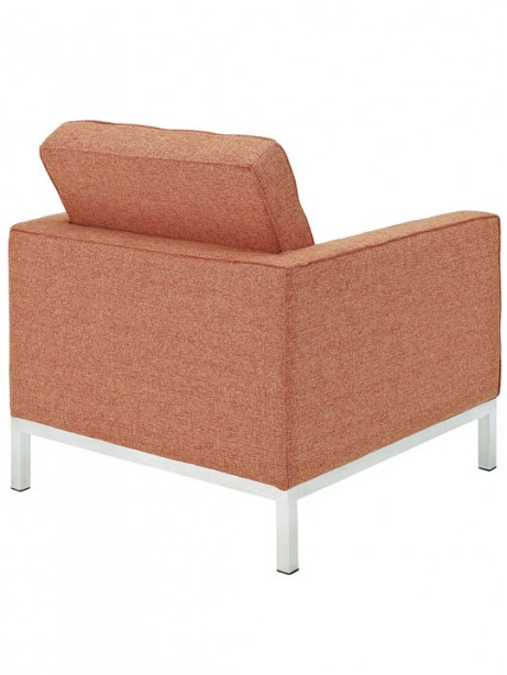 Bateman Wool Armchair Orange 461x614