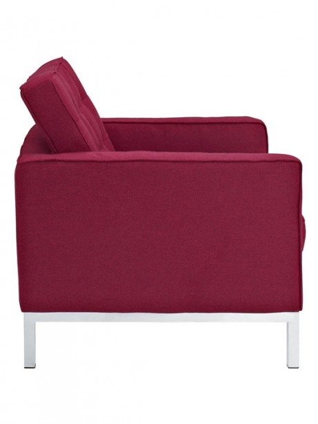 Bateman Wool Armchair Red 2 461x614