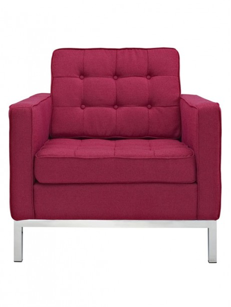 Bateman Wool Armchair Red 4 461x614