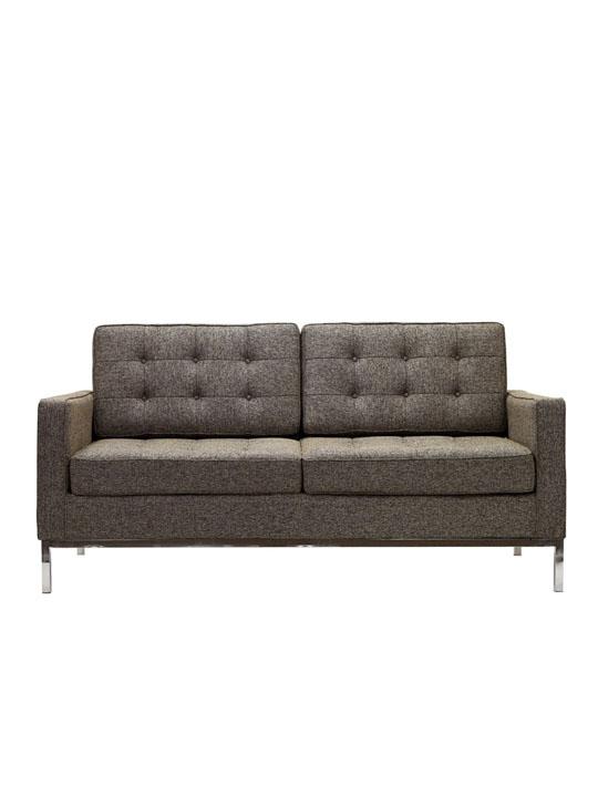 Bateman Wool Love Seat