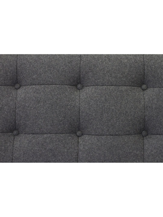 Bateman Wool Sofa Dark Gray 7