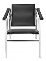 Black Attache Chair 156x207