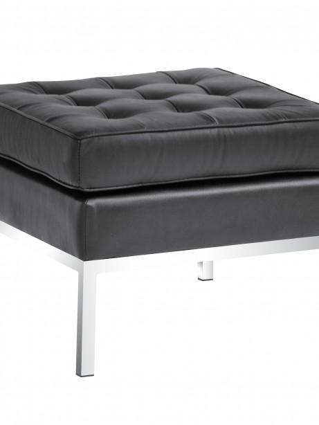 Black Bateman Leather Ottoman 5 461x614