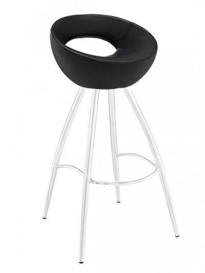 Black Flower Pot Barstool1 e1435094692780