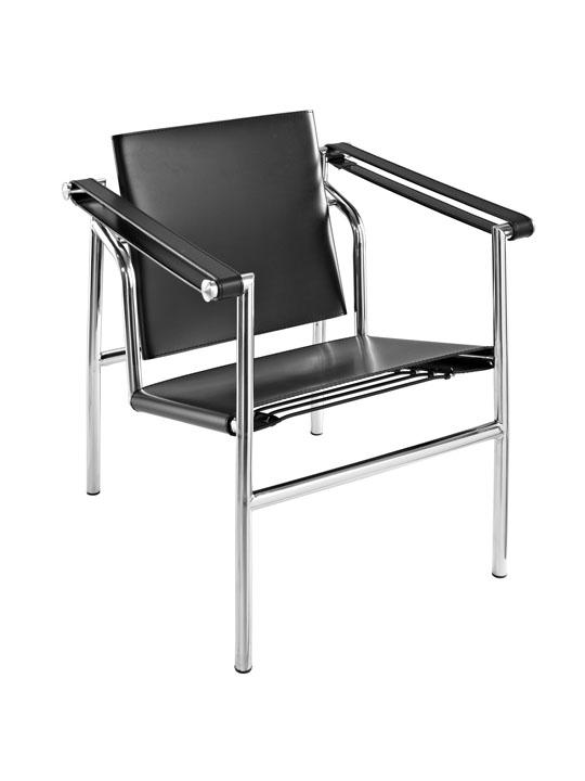 Black Leather Attache Chair 3