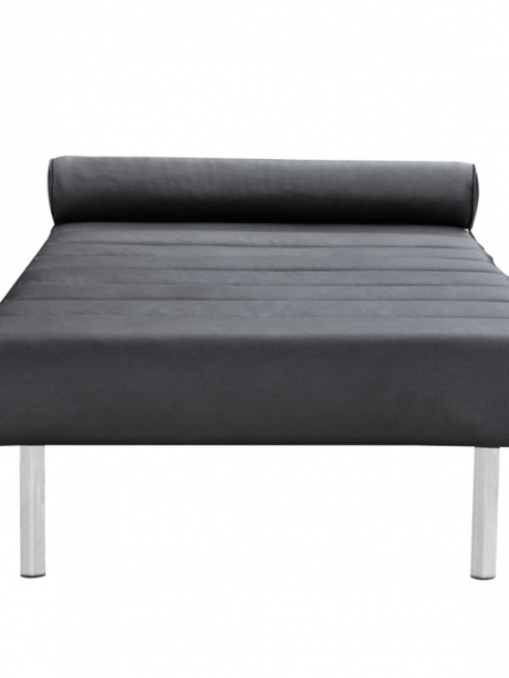 Black Leather King Stretch Bench 2 461x614
