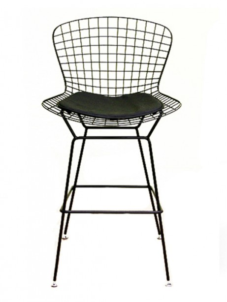 Black Wire Barstool 461x614