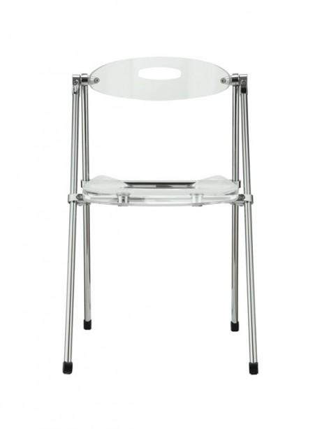 Clear Acrylic Folding Chair 3 461x614