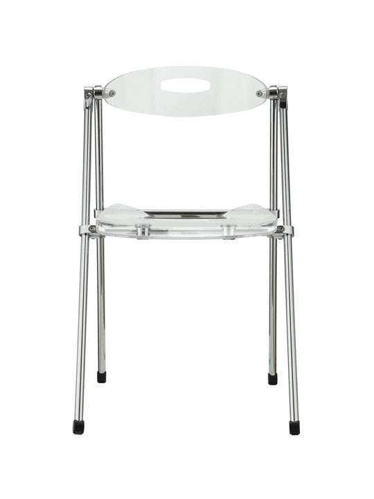 Clear Acrylic Folding Chair 3