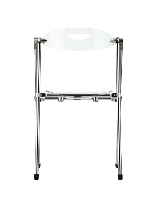 Clear Acrylic Folding Chair 4