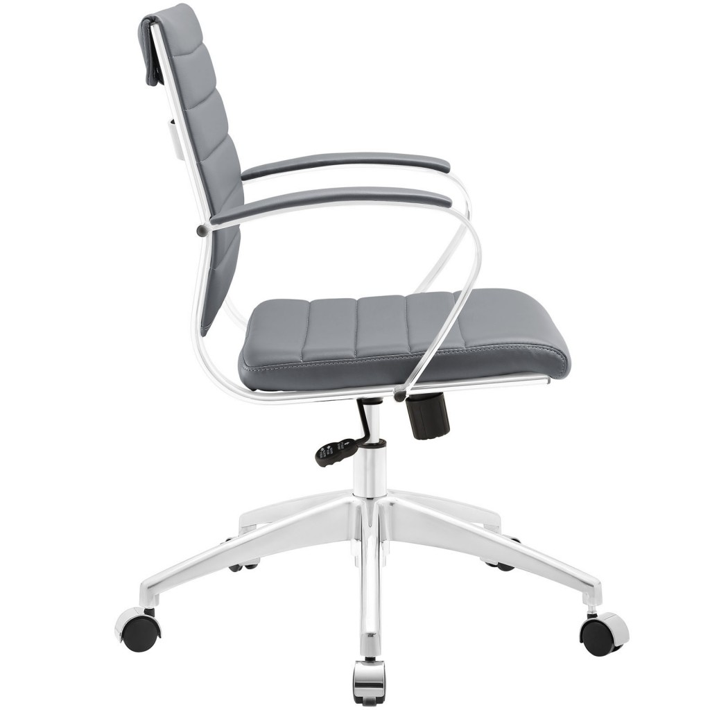 Gray Instant Operator Low Back Office Chair 2