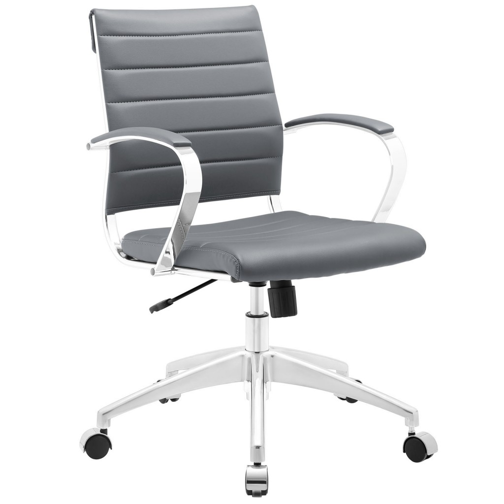Gray Instant Operator Low Back Office Chair