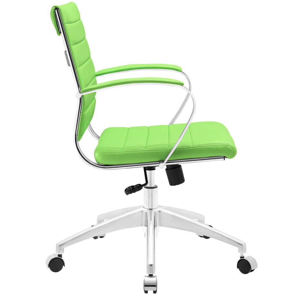 Green Instant Operator Low Back Office Chair 2