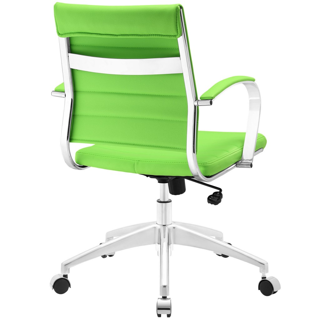Green Instant Operator Low Back Office Chair 3