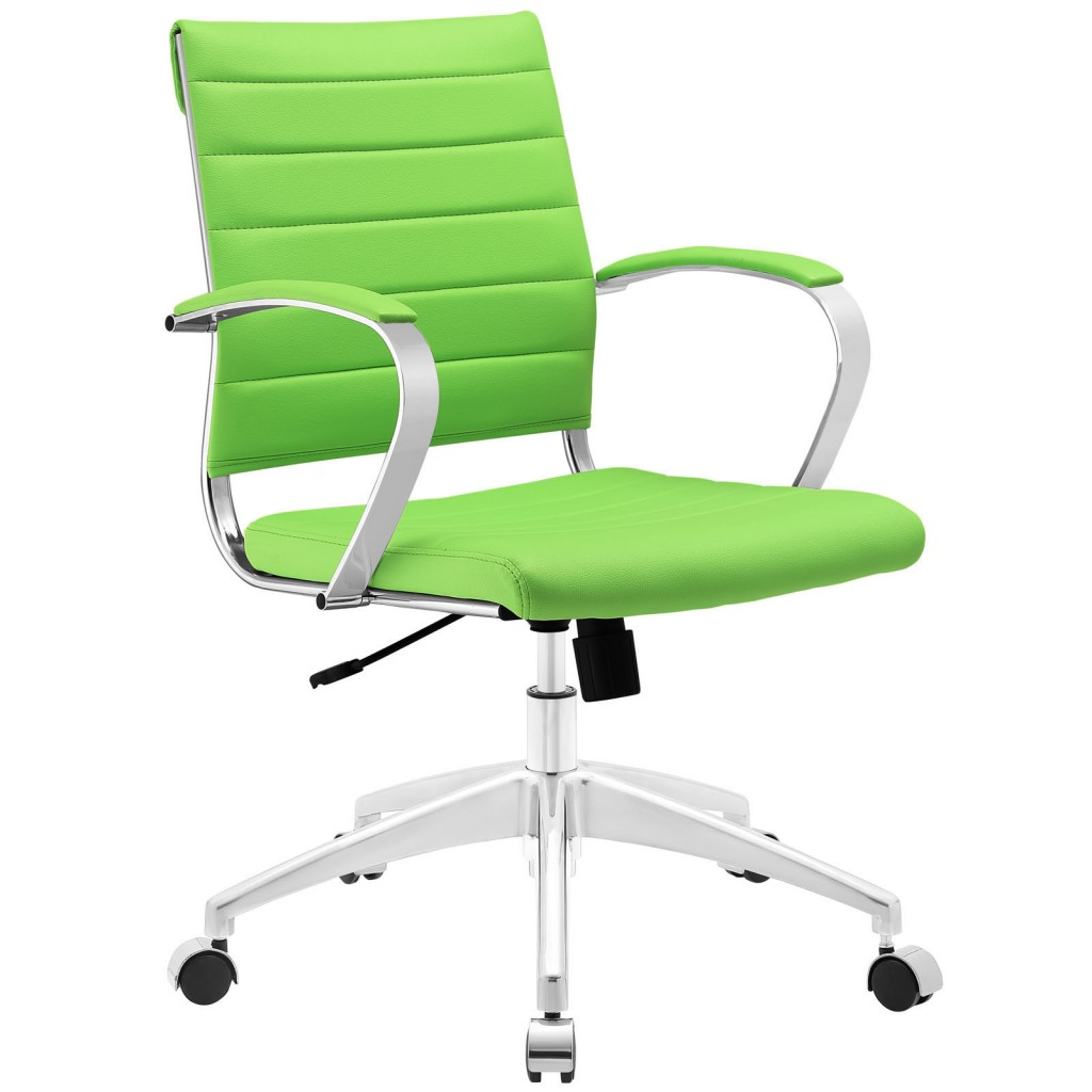 Green Instant Operator Low Back Office Chair
