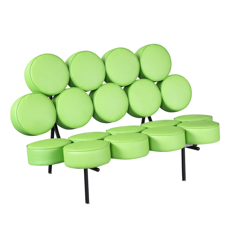 Green Spherical Sofa 2