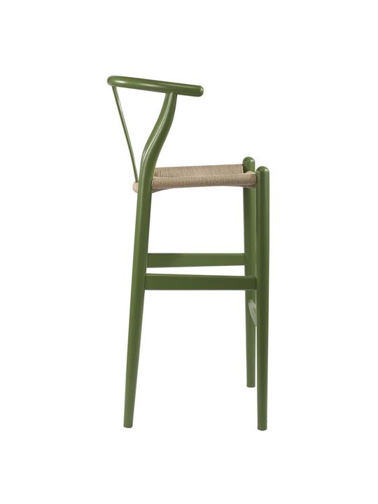 Hemp Barstool Green 3