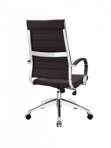 Instant Operator Office Chair Brown Leather 3 461x614