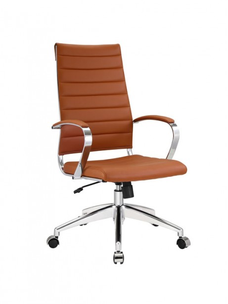Instant Operator Office Chair Tan Leather 461x614