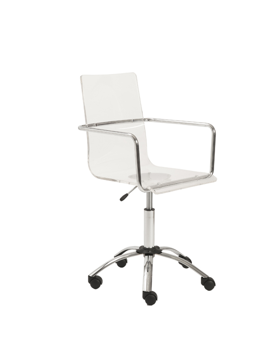 Lucid Clear Office Chair 2