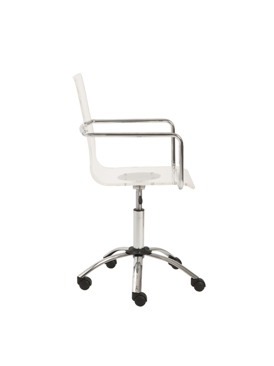 Lucid Clear Office Chair 3 1