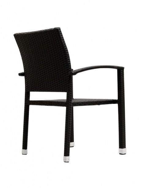 Moda Wicker Chair Espresso 2 461x614