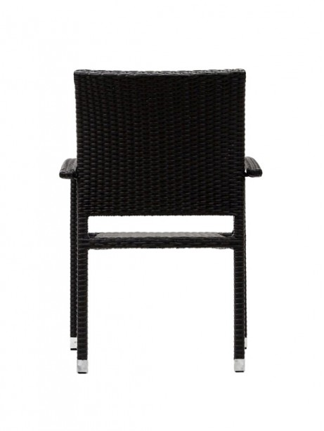 Moda Wicker Chair Espresso 3 461x614