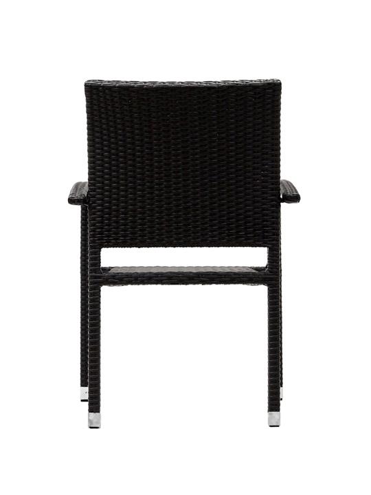 Moda Wicker Chair Espresso 3