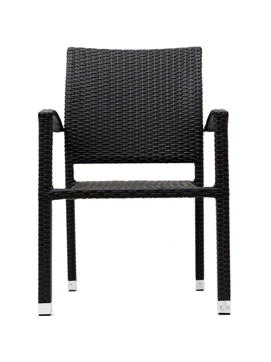 Moda Wicker Chair Espresso 4