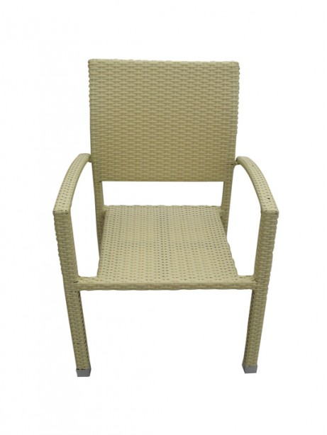 Moda Wicker Chair Tan  461x614