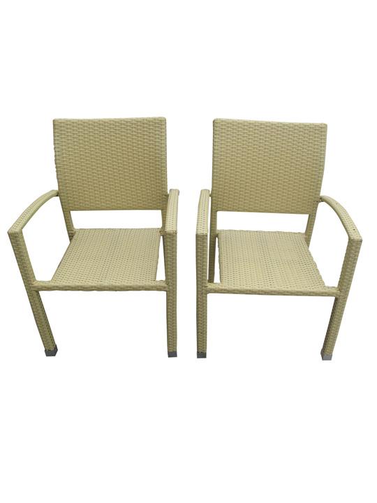 Moda Wicker Chair Tan 3
