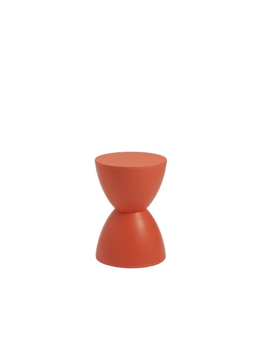 Orange Bombay Stool 2