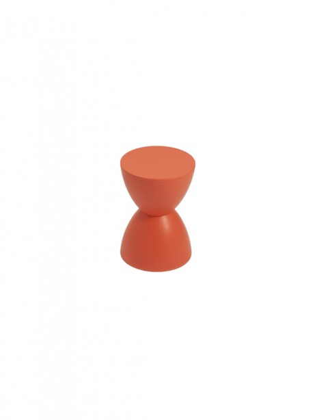 Orange Bombay Stool 461x614