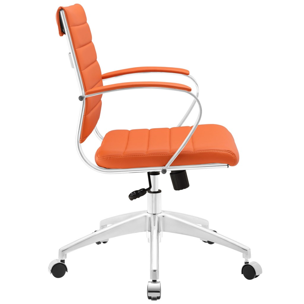 Orange Instant Operator Low Back Office Chair 2