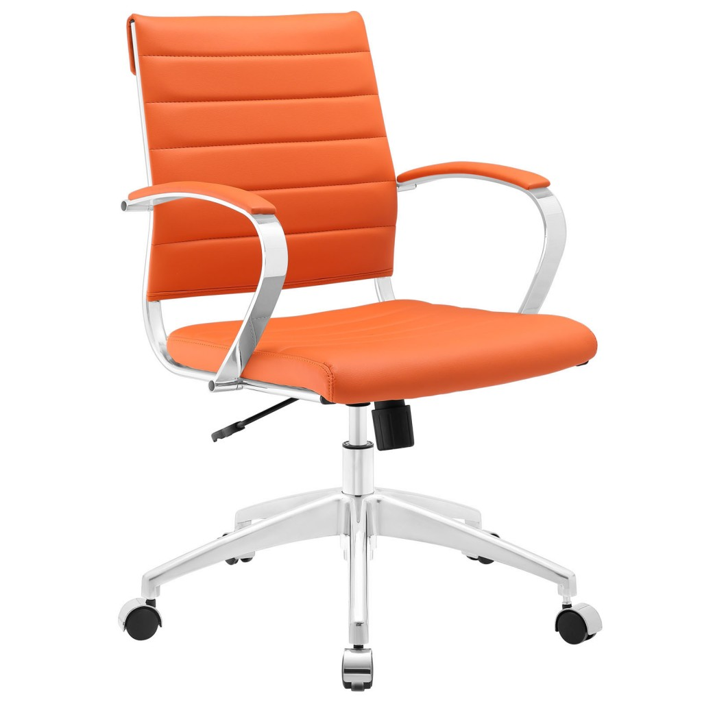 Orange Instant Operator Low Back Office Chair