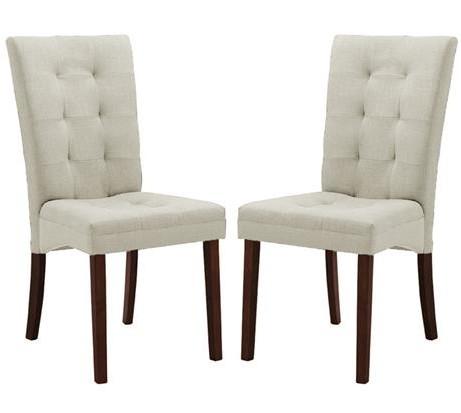 Quinn Beige Fabric Dining Chair 461x413